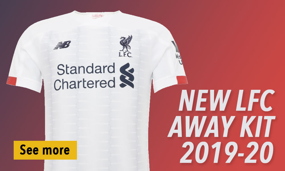 Liverpool away kits 2019-20