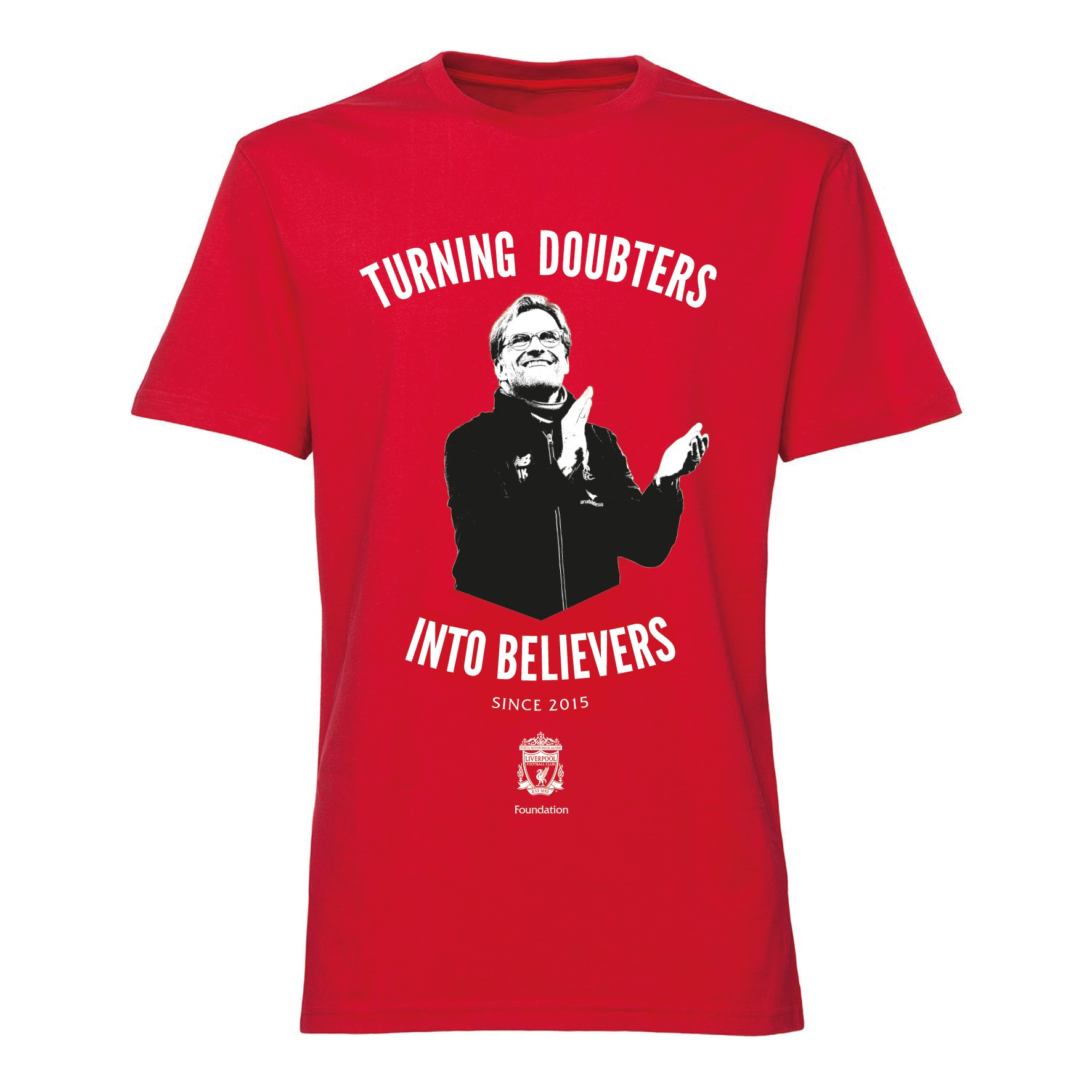 Klopp LFC Foundation Believers T-Shirt