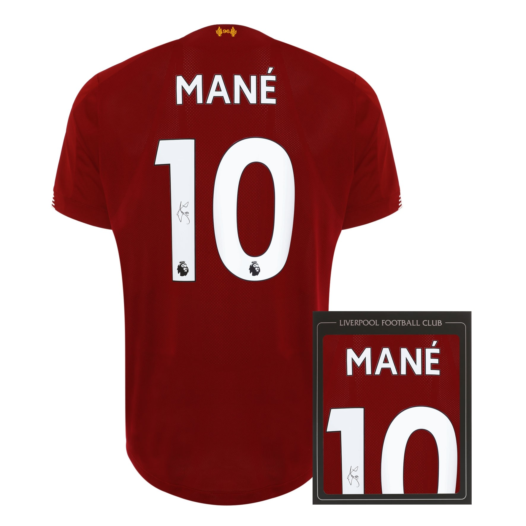 LFC 19/20 Mané Signed Shirt