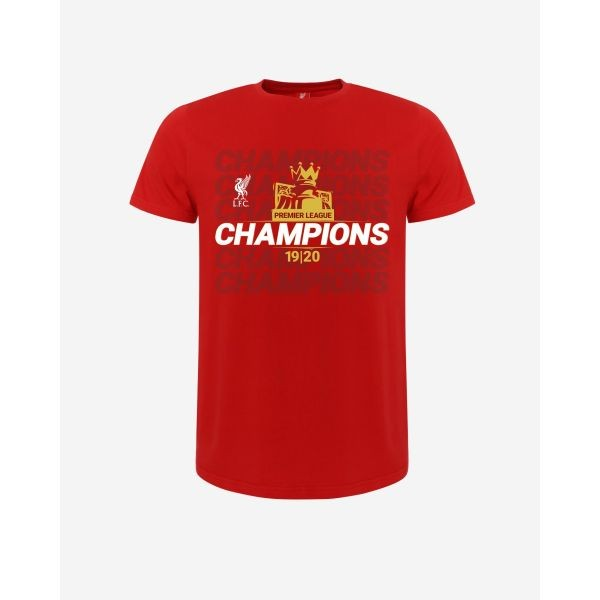 LFC Adult EPL Champions 19-20 Red Tee