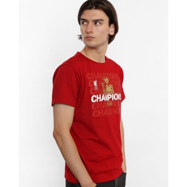 LFC Adults EPL Champions 19-20 Vintage Red Tee