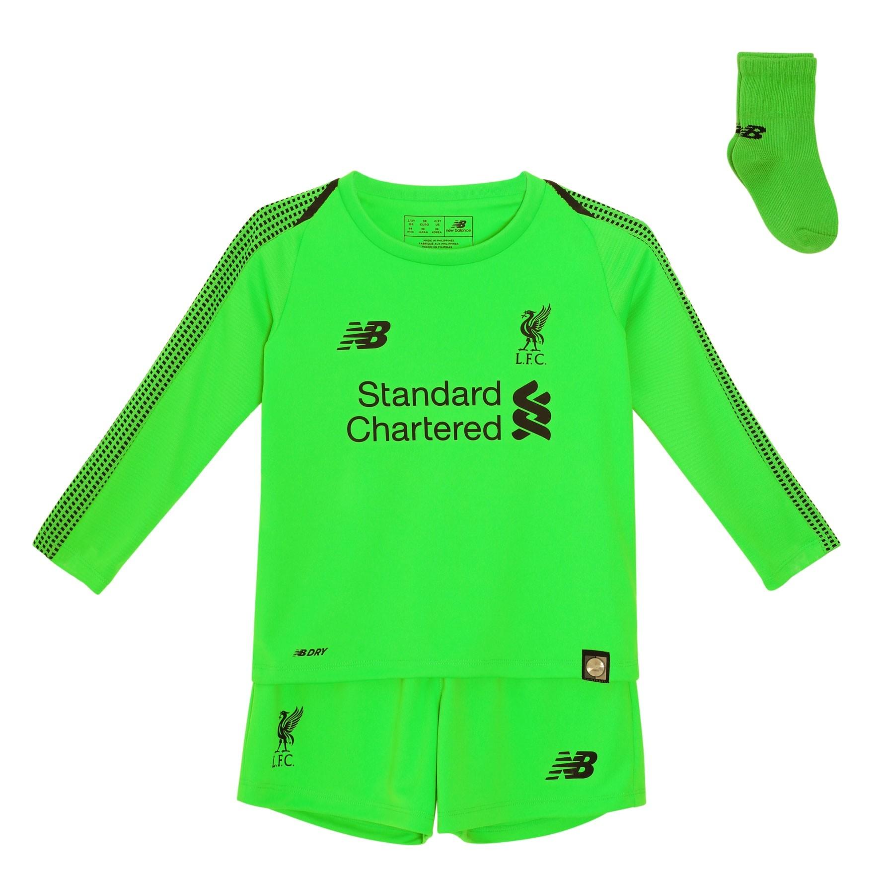 67345f01ddd LFC Baby Goalkeeper Away Kit 18 19