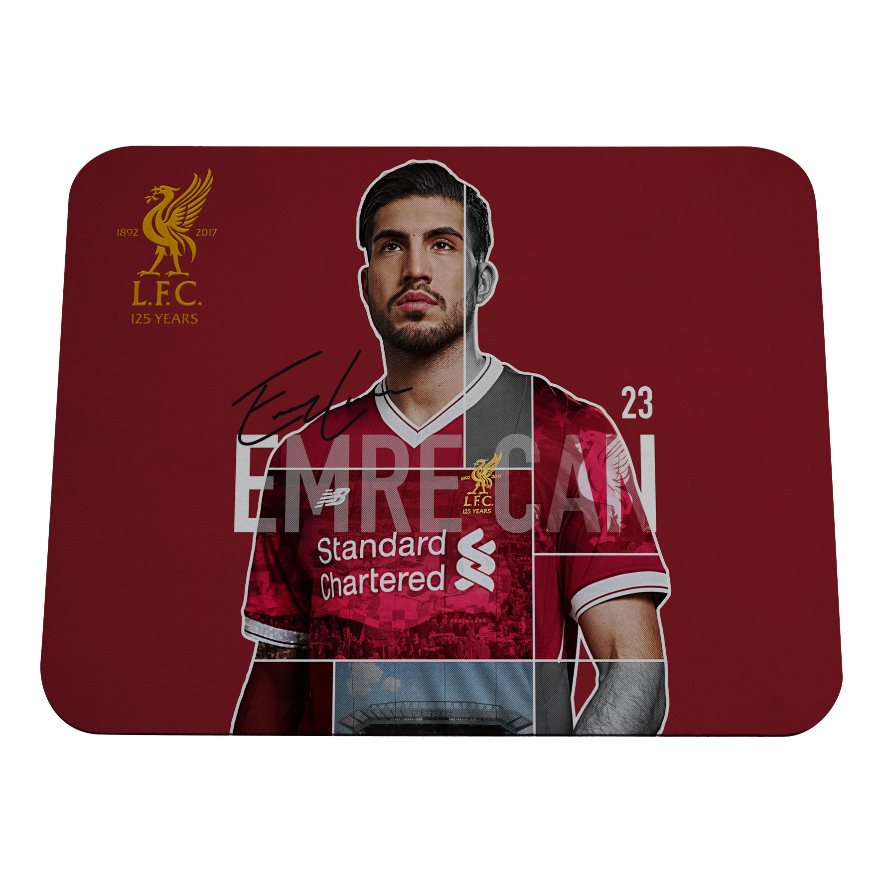 LFC Can Mousemat 17/18