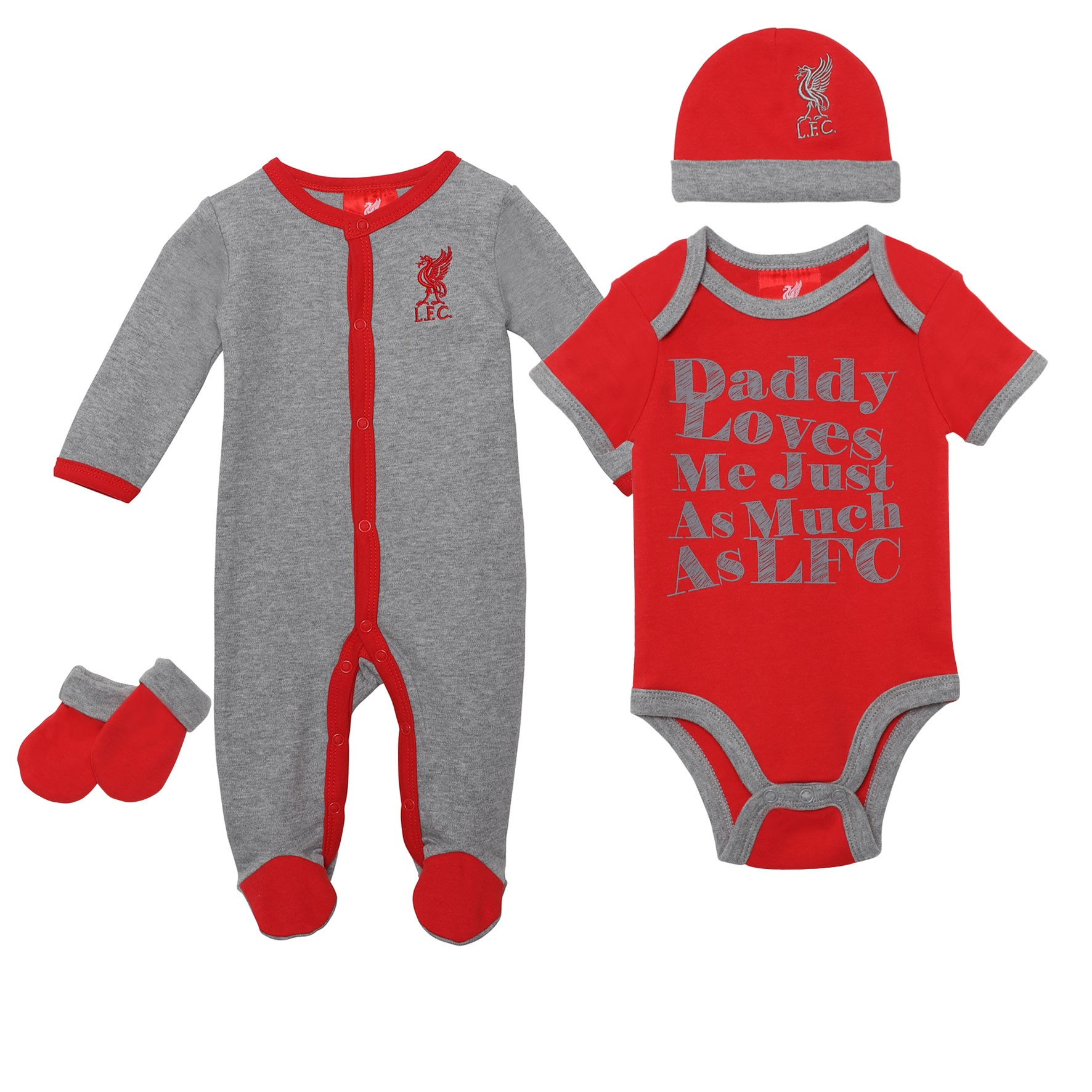 LFC Grey Baby 4 Piece Set