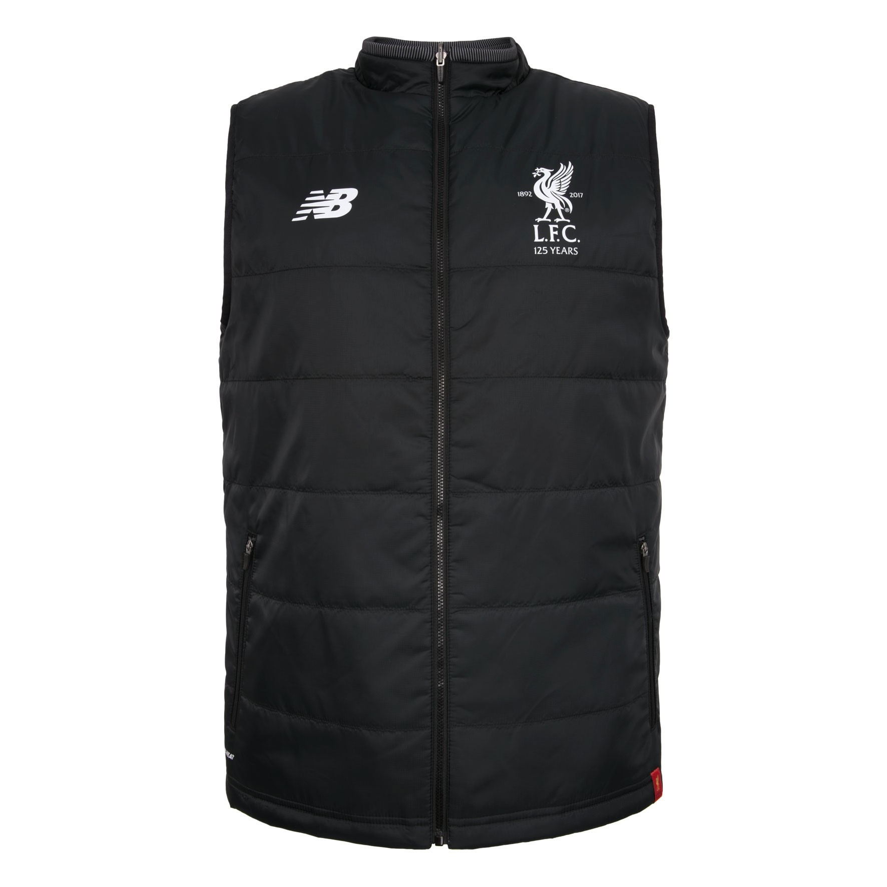 LFC Junior Black Training Reversible Gilet 17/18