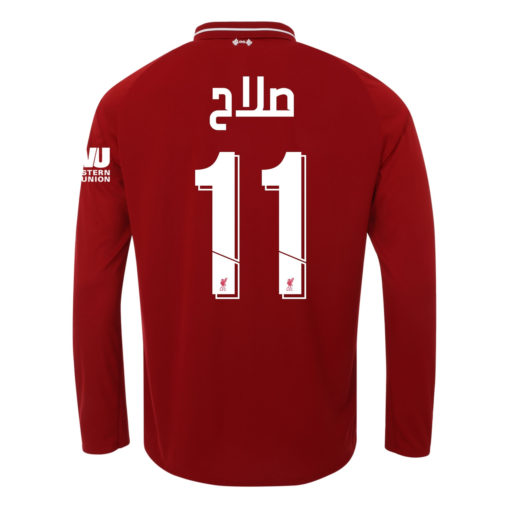 LFC Junior Long Sleeve Home Shirt 18/19 - Salah