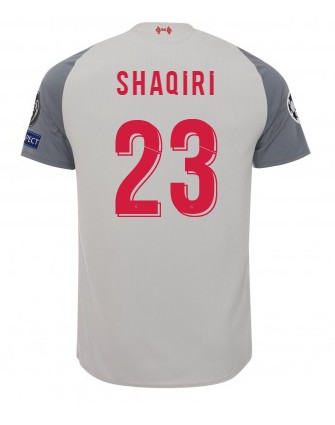 LFC Kids Third Shirt 18/19 (Champions League) Xherdan Shaqiri
