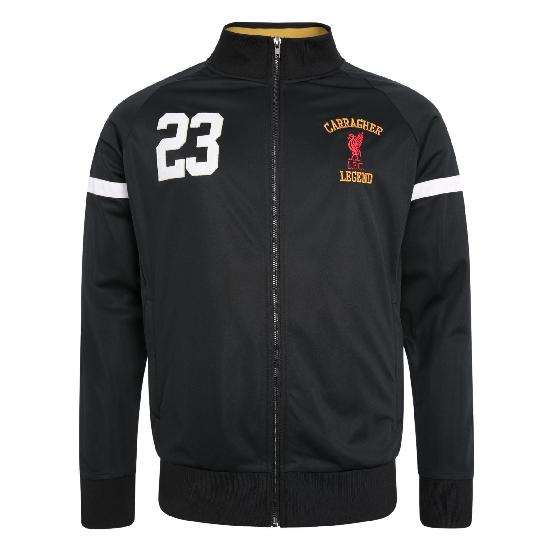 LFC Mens Black Carragher Jacket