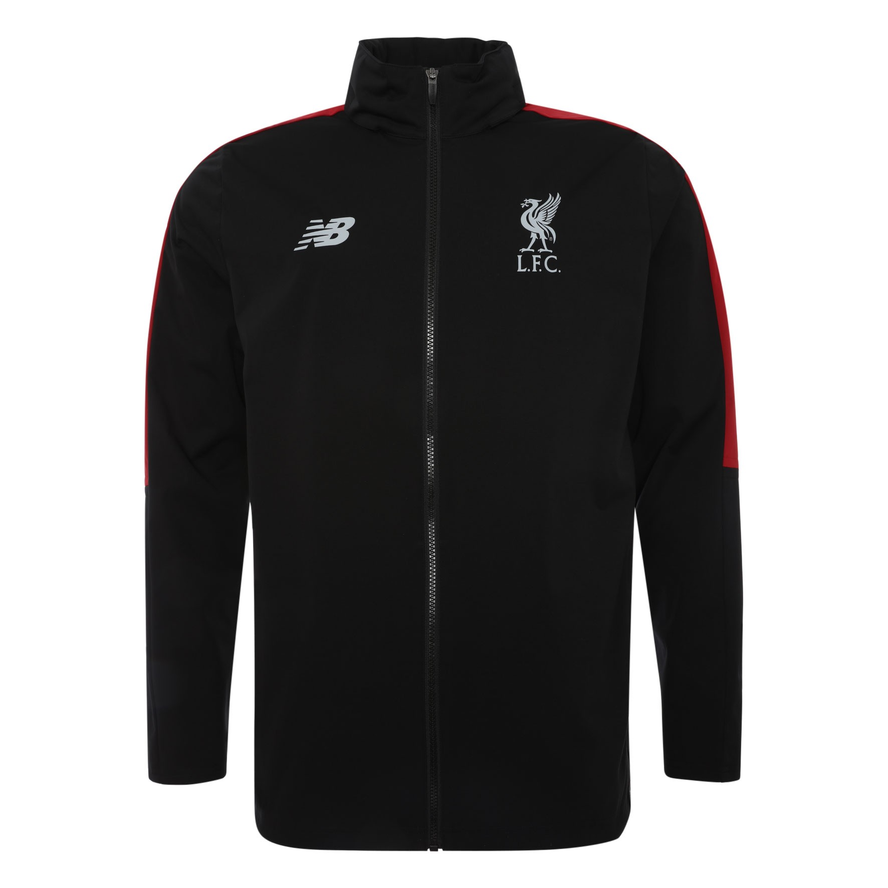 LFC Mens Black Training Precision Rain Jacket 18/19