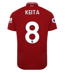 LFC Mens Home Shirt 18/19 (Premier League) Keita