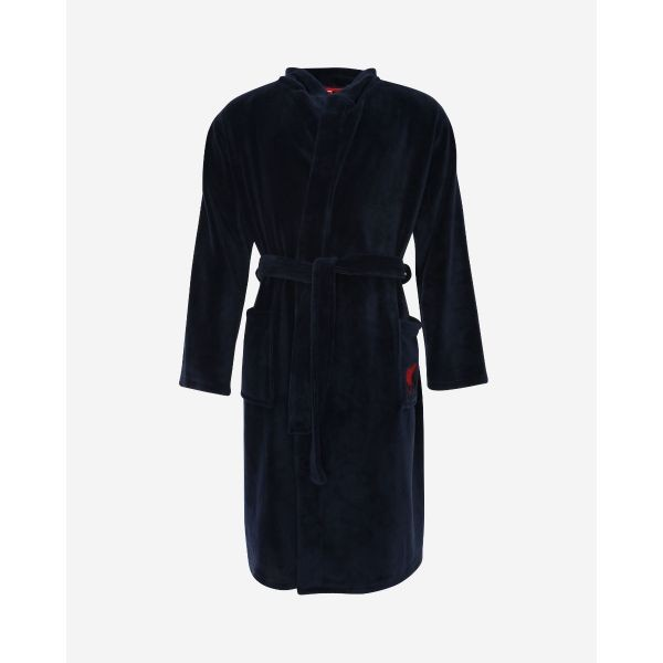 LFC Mens Navy Dressing Gown
