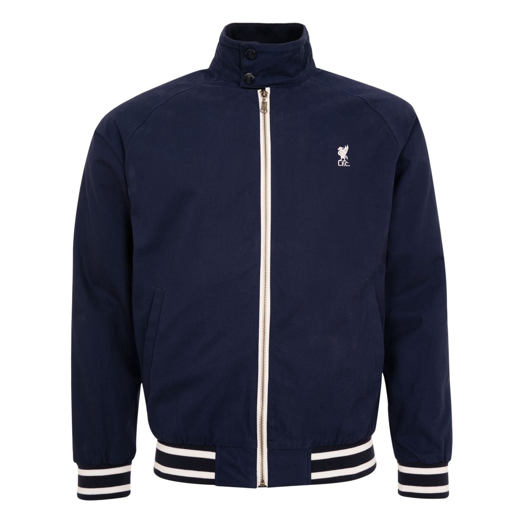 LFC Mens Navy Harrington Jacket