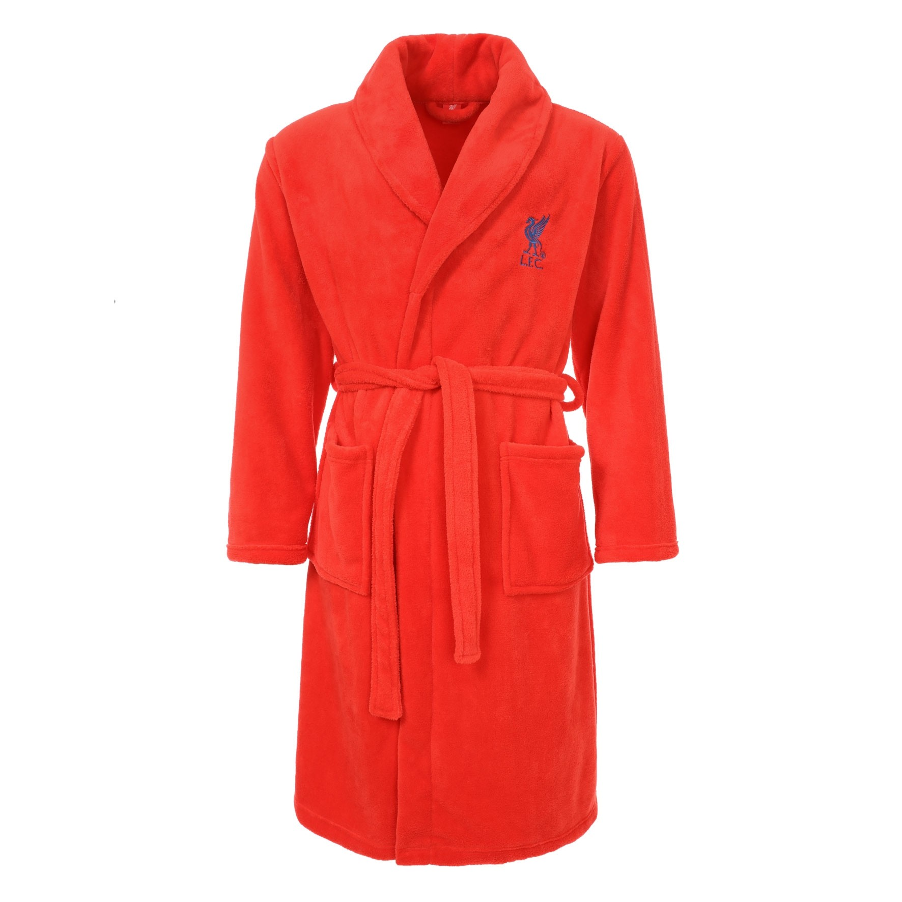 Red Dressing Gown Hottie Fuck