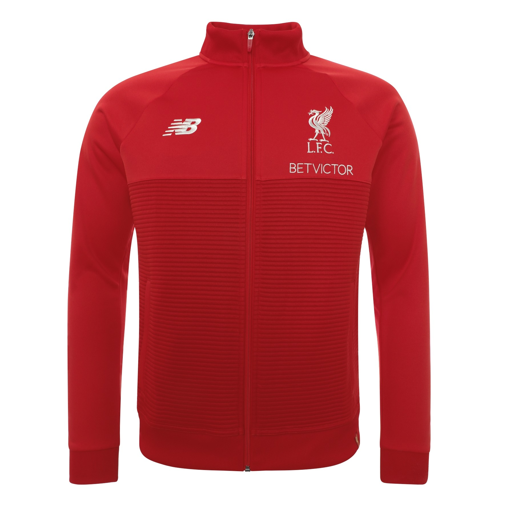 LFC Mens Red Pepper Training Walk Out Jacket 18/19