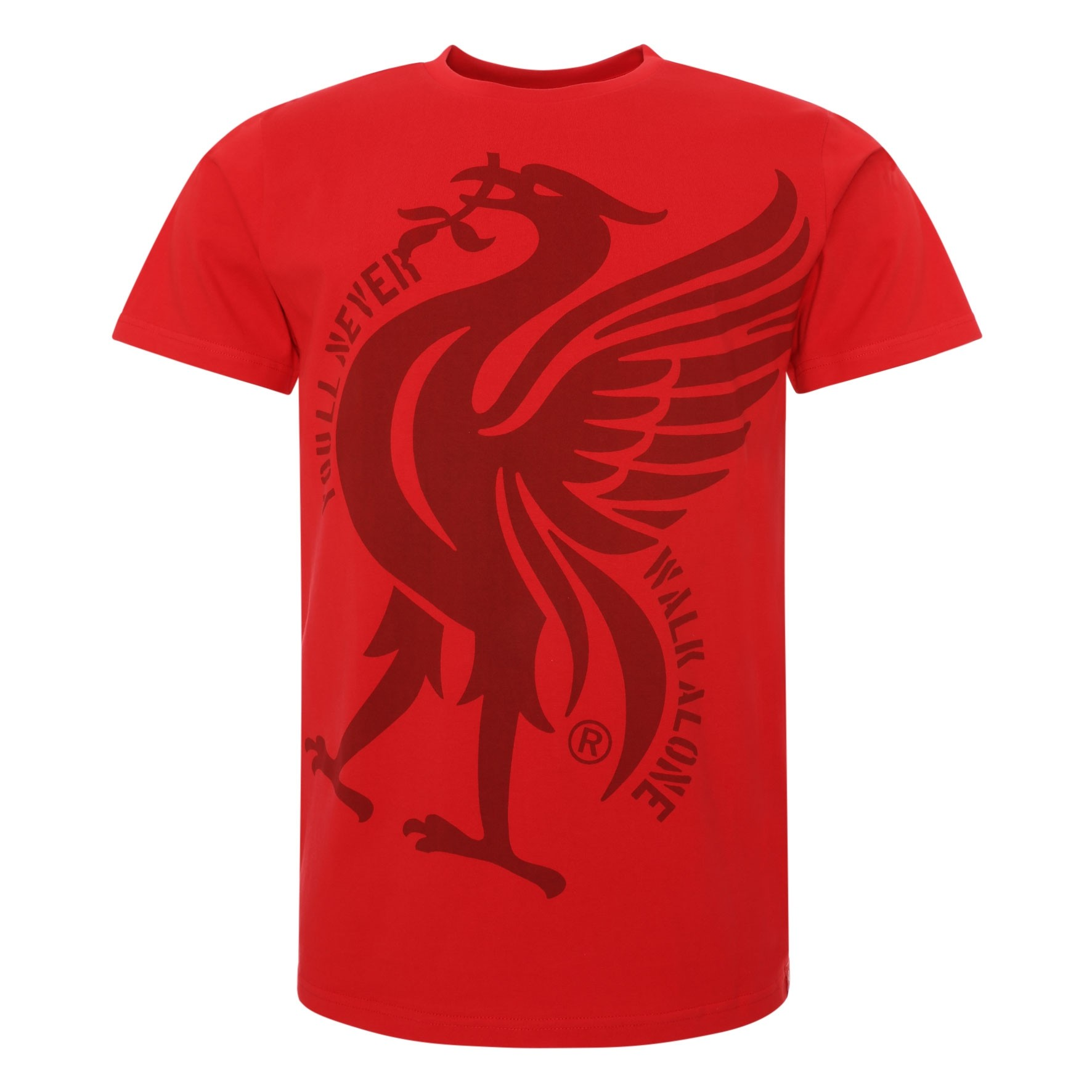 LFC Mens Red YNWA Liverbird Tee