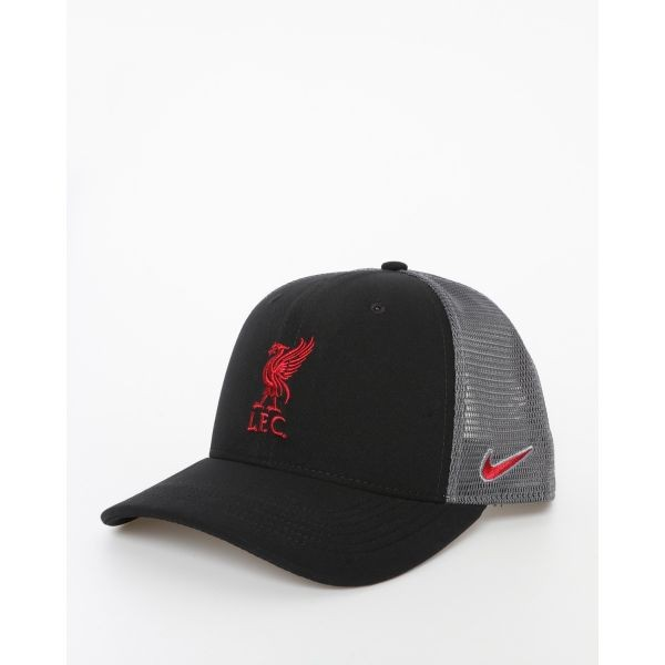 LFC Nike Adults Black Trucker Cap