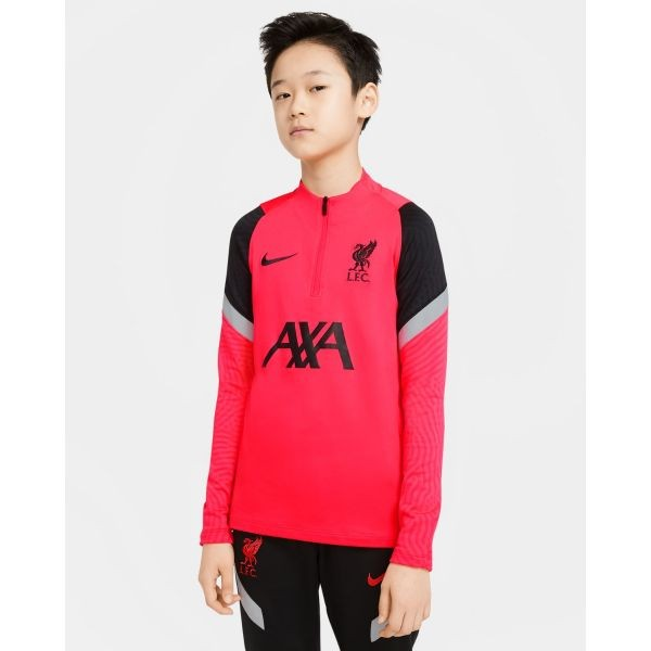 LFC Nike Junior Crimson Strike Drill Top
