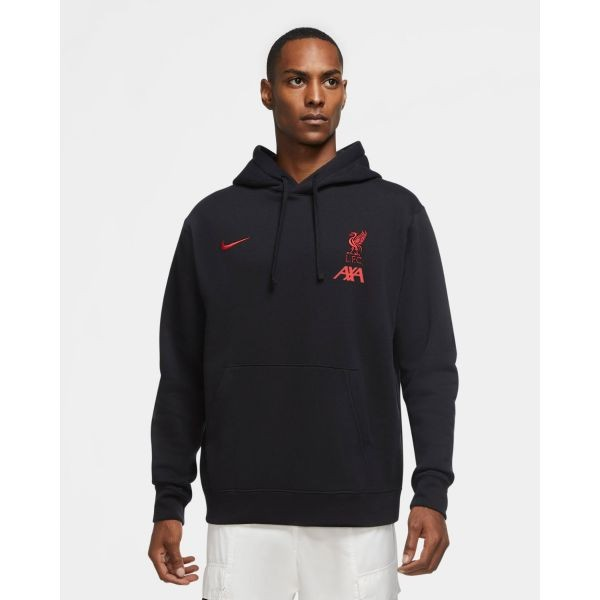 LFC Nike Mens Coaches Collection Black Hoodie