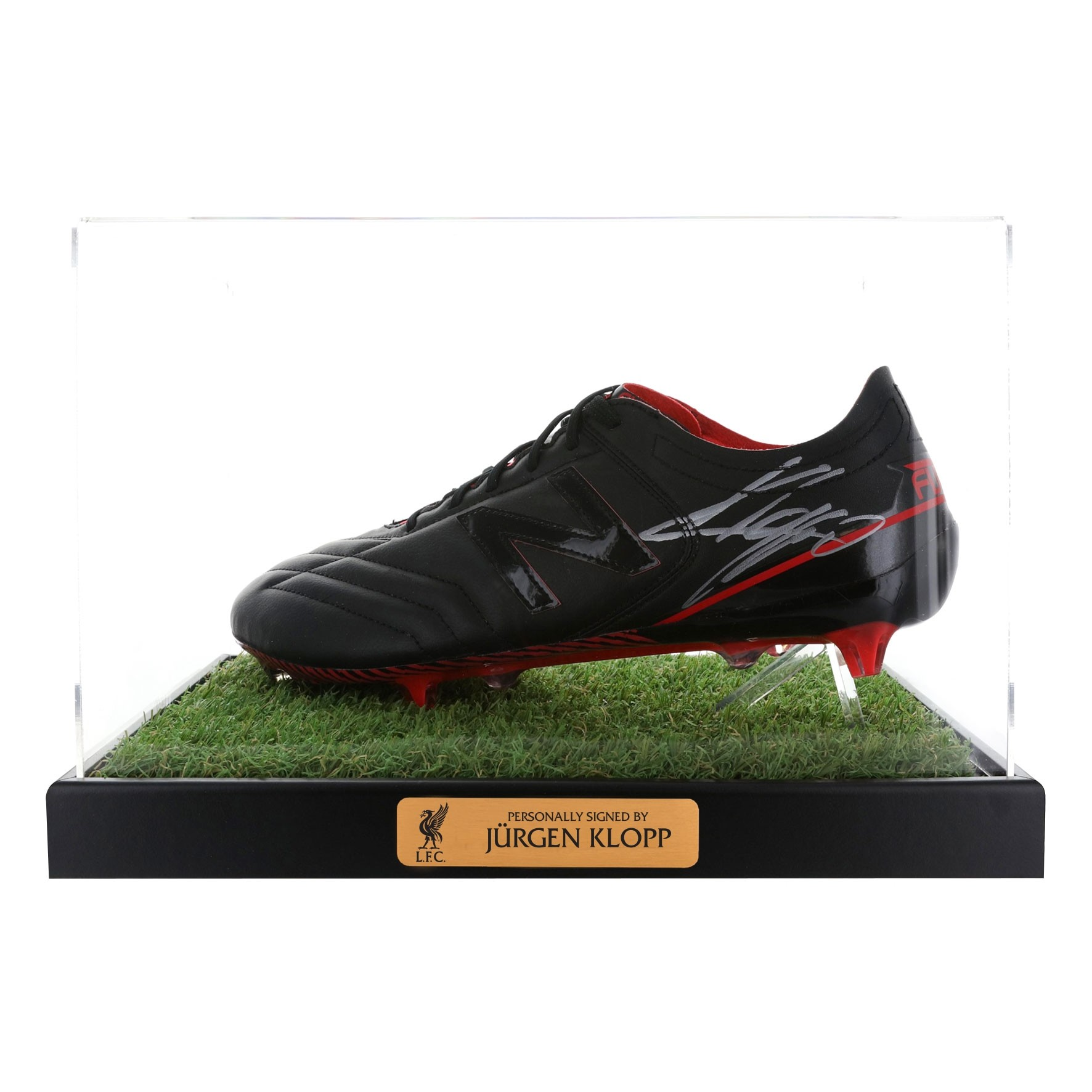 LFC Signed Klopp Boot in Case